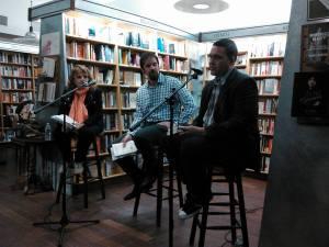 Apresentação do escritor Paulo Scott, em conversa com Eric Becker & Kátia Gerlach