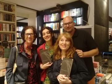 Livraria da Travessa, Eunice Guttman, Susana Fuentes e Carlos Schroeder