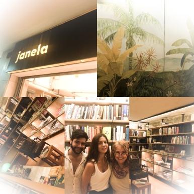 Livraria janela, Rio de Janeiro